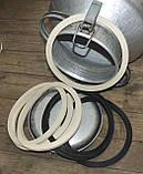 Резиновое кольцо уплотнитель молочного бидона на 25,20,38, и 40литров Черное, фото 4