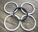 Резиновое кольцо уплотнитель молочного бидона на 25,20,38, и 40литров Черное, фото 5