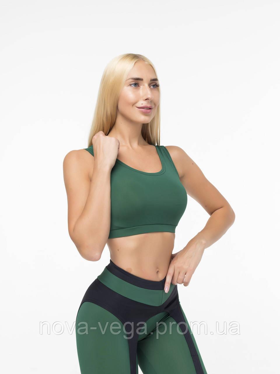 Женский Спортивный Топик Nova Vega Classic Green