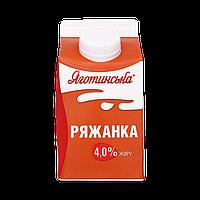 Ряжанка Яготинське 4% пюр-пак 450г