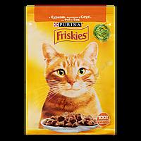 Корм для котів Friskies з куркою у соусі 85г
