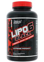 Жиросжигатель Nutrex Lipo 6 Black Powerfull Weight Loss - 120 капс