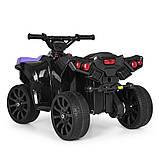 Детский квадроцикл кож.сидение, свет, колеса EVA, фото 4