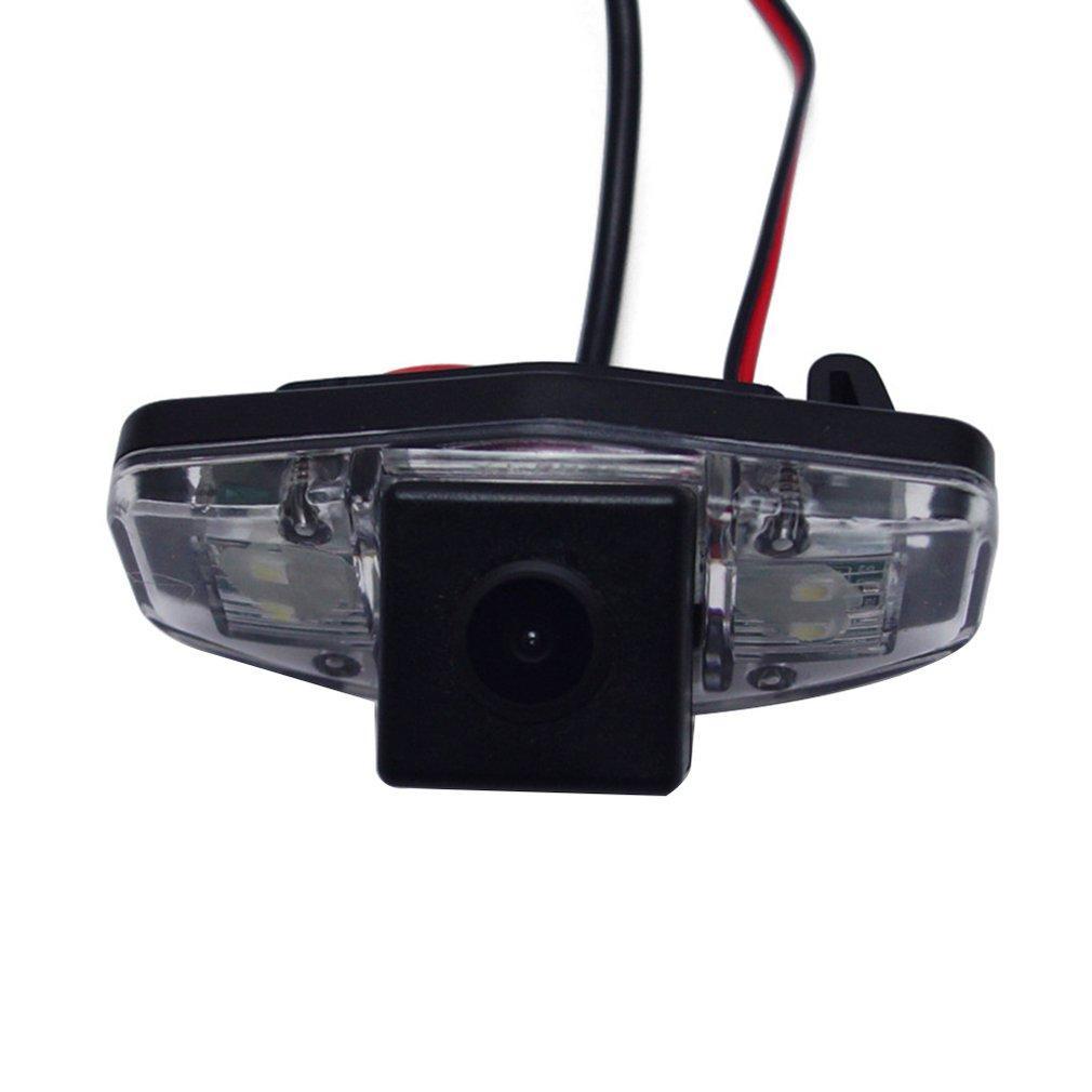 Штатная камера заднего вида Lesko для марок Honda Accord, Pilot автомобильная