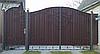 Ворота з профнастилу В-22