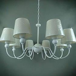 Люстра подвесная на 8 ламп 06-S146/8 WT+WT (2шт) ТК