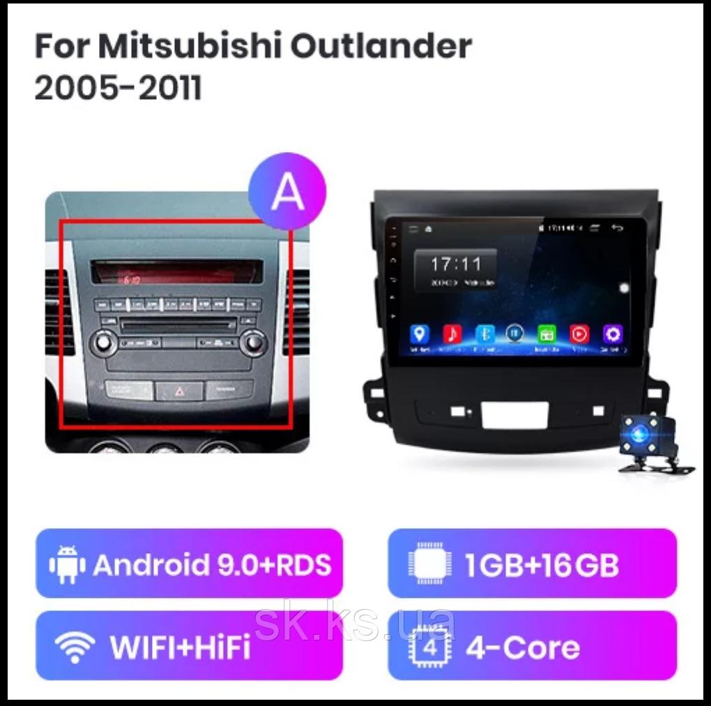 Junsun 4G Android магнитола для Mitsubishi Outlander XL2 2005-2011 wifi