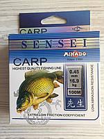 Рыболовная леска Sensei Mikado Carp 100M 16.9kg 0.45mm