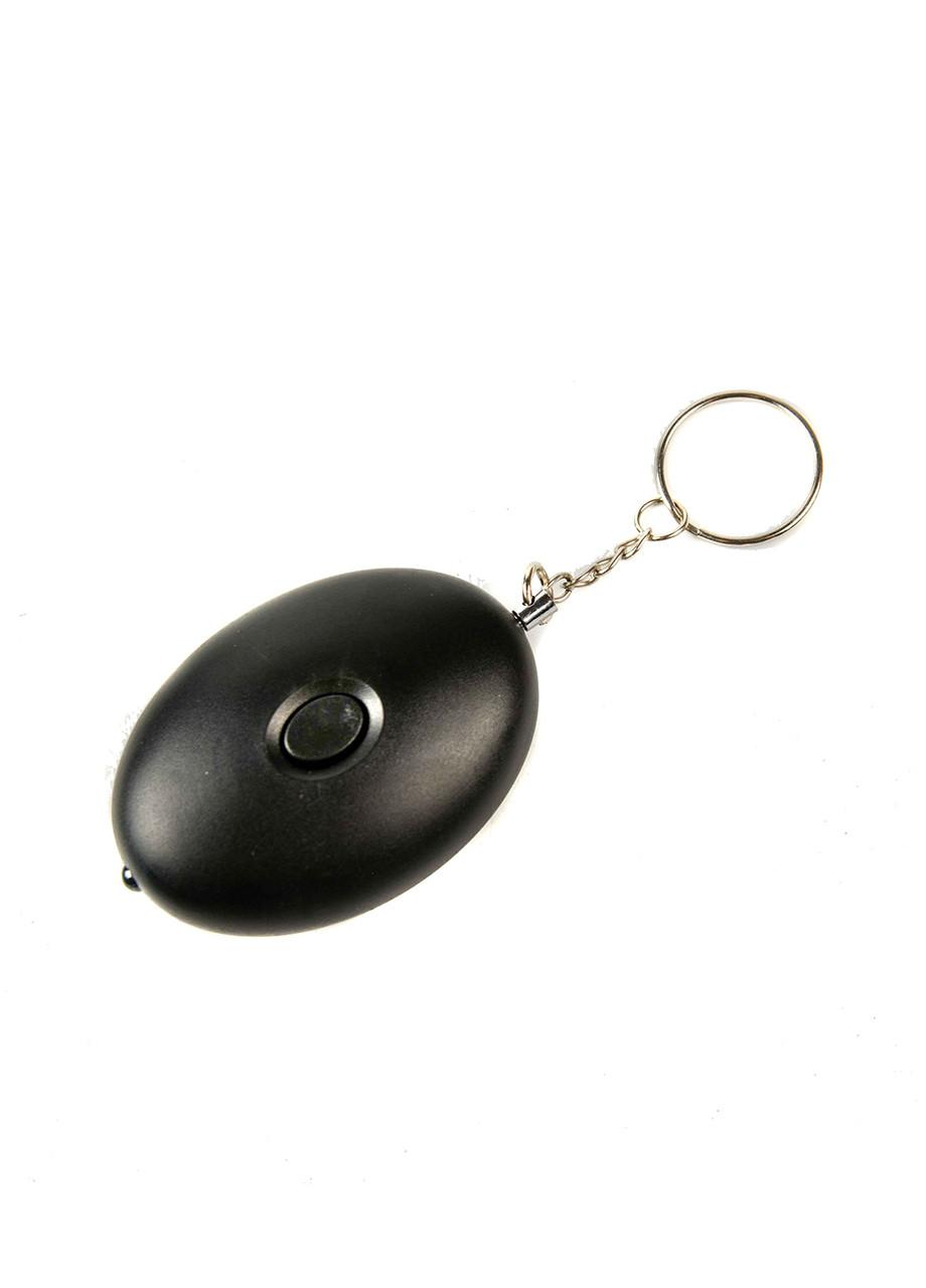 Персональная сигнализация-брелок Penny 6,5х4,5х2см Черный, Серебро
