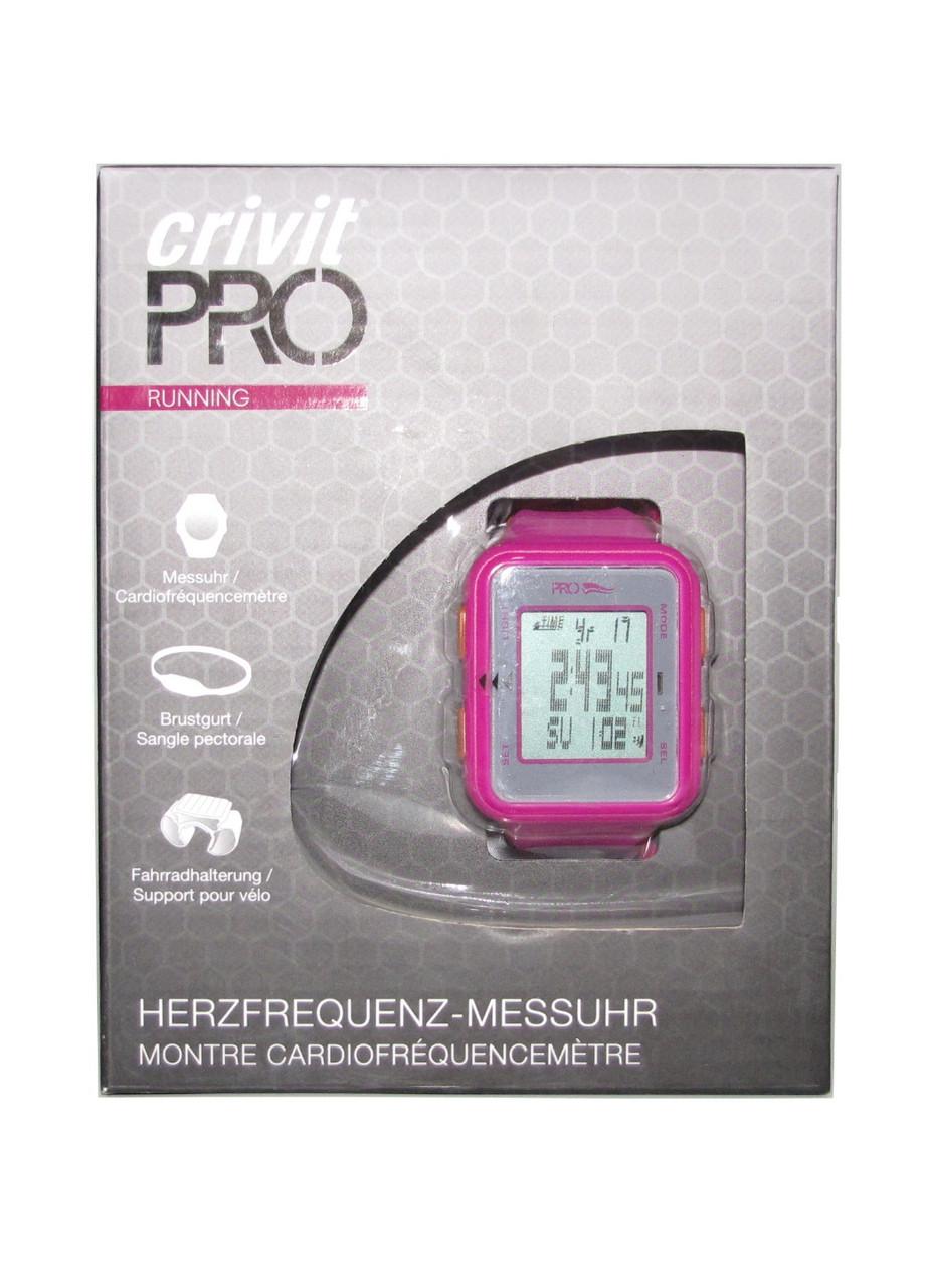 Часы монитор сердечного ритма 1-LD4677 Crivit Uni Розовый
