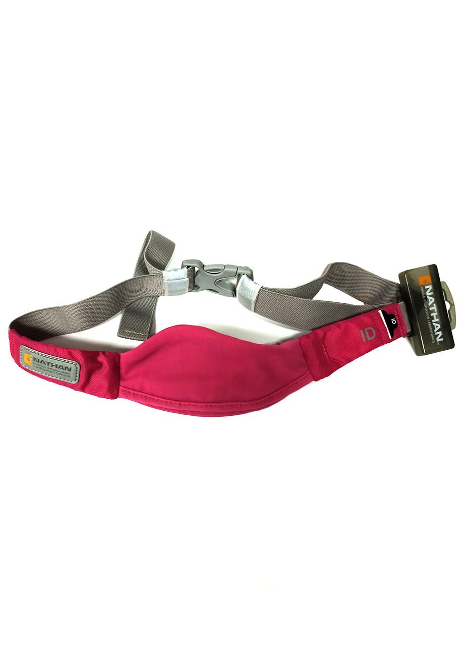 Спортивная сумка на пояс  Nathan 15х7см Розовый