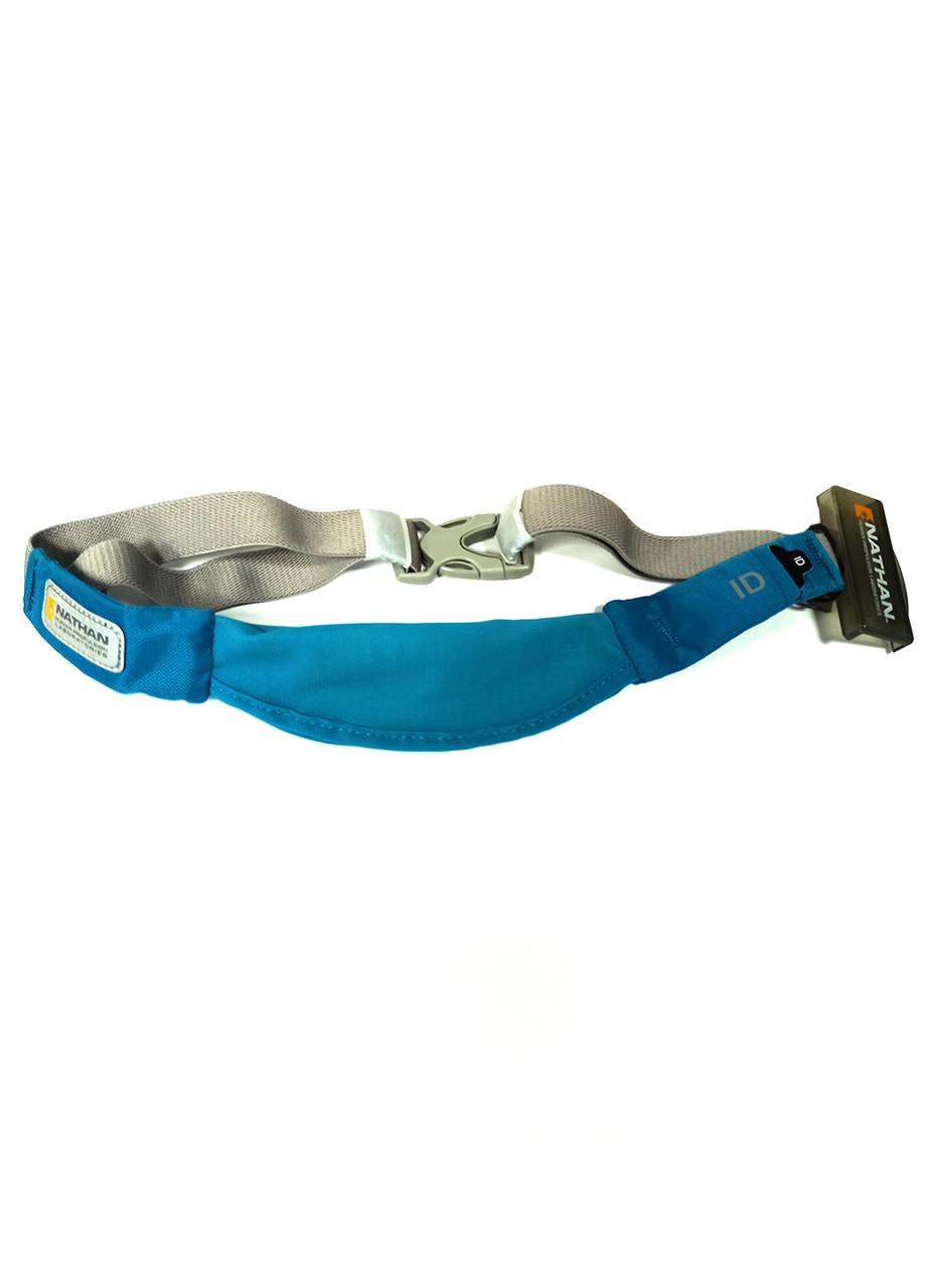Спортивная сумка на пояс  Nathan 15х7см Голубой