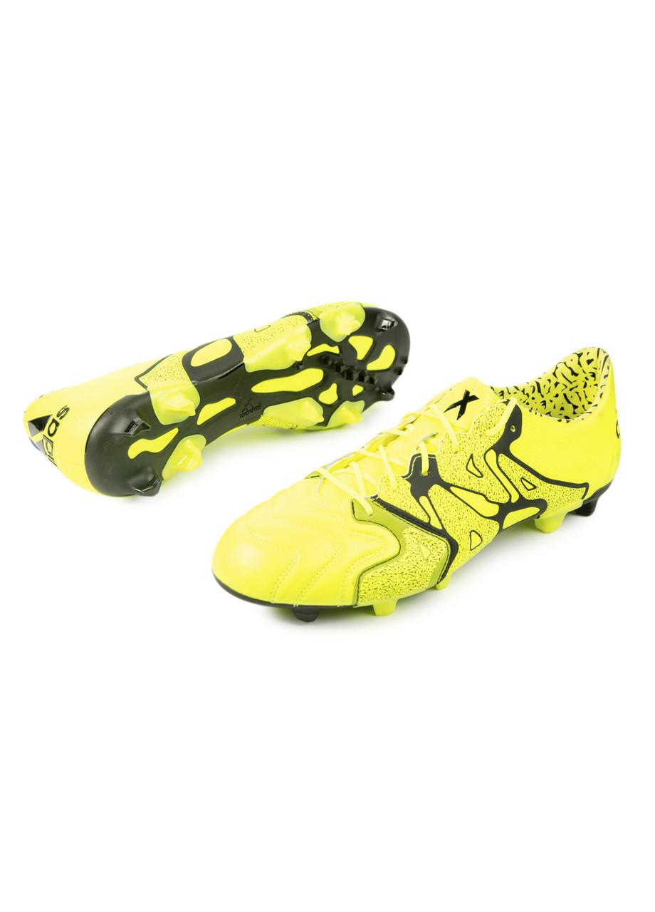 Бутсы Adidas 48 Желтый, Черный