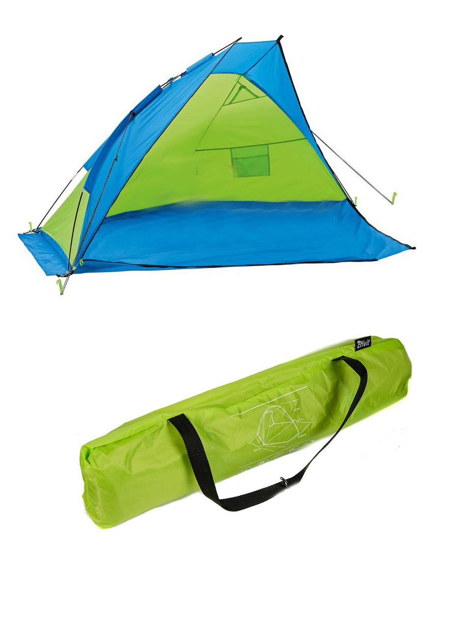 Палатка на 2 персоны Crivit 270х117х225см Зеленый