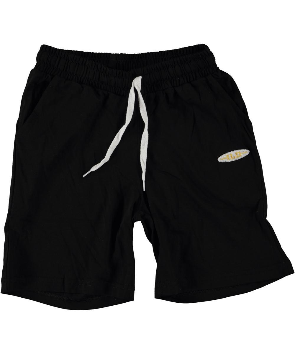 {есть:140} Трикотажные шорты для мальчиков,  Артикул: 4874-черный