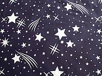 Ткань для пошива постельного белья Ранфорс Звездочет, фото 1