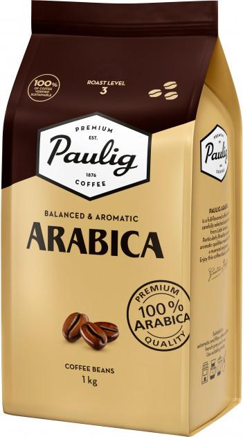 Кофе в зернах Paulig Arabica 100% арабика 1кг