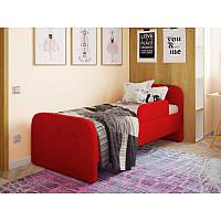 Детская односпальная кровать Teddy красная, фото 1