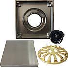 С7 Трап сливной MAGdrain WC02Q5-N матовый никель 100х100 мм Н-100, фото 6
