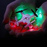 SYMA Квадрокоптер Nano с 4-х канальным 2,4 Ггц управлением  ( 7,7 cм.), X12S, фото 9