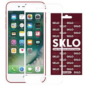 "Защитное стекло SKLO 3D (full glue) для Apple iPhone 7 / 8 / SE (2020) (4.7"")"
