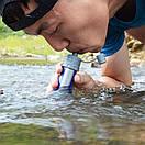 Туристический фильтр для очистки воды. Water Filter Staraw 0.1 микрон (Портативный), фото 7