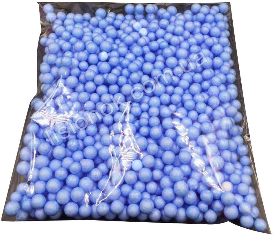 Сиреневые пенопластовые шарики для слаймов – 2000 штук, для создания кранч слаймов (crunchy slime)