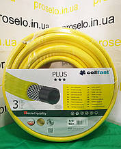 """Шланг для поливу 3-х шаровий. Бухта 50м. Діаметр 18мм Ø (3\4"""") . """"PLUS"""" """"Cellfast"""". Польща"""