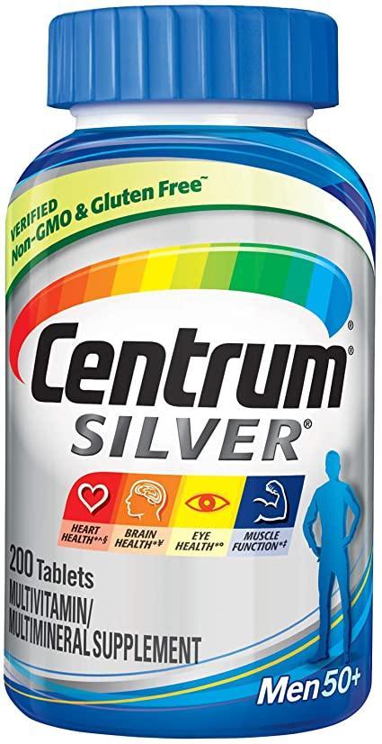Мультивитаминный комплекс для мужчин Centrum Men 50+, 200 таблеток