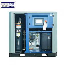 Компресор SCR 50 EРМ (37 кВт, 1.58 - 7.3 м3/хв) прямий привід, частотник, двигун на постійних магнітах, фото 3
