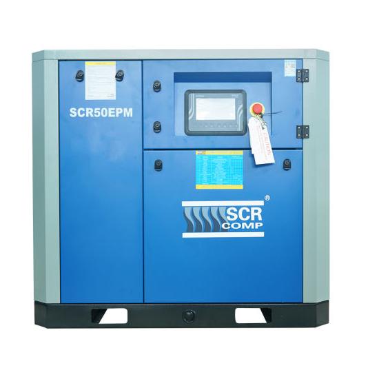 Компресор SCR 50 EРМ (37 кВт, 1.58 - 7.3 м3/хв) прямий привід, частотник, двигун на постійних магнітах