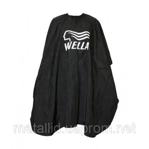Пеньюар для стрижки  Wella черный
