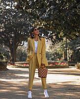 Річний тонкий жіночий костюм з білоруського льону. Колір та розмір в асортименті 40-72+, фото 1