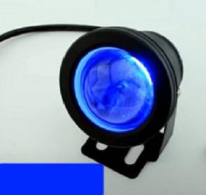Светодиодный грунтовой линзованный светильник LM 17B 10W синий  IP65 Код.59732, фото 2