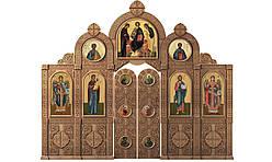Іконостас різьблений 6 (4,4*3,8м)