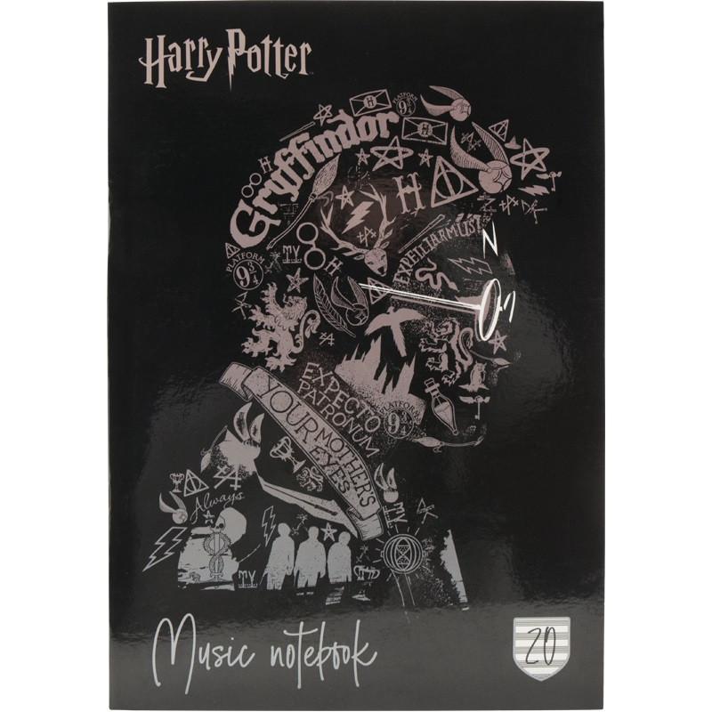 "Нотний зошит А4 20арк. ""Kite"" Harry Potter №HP20-404-2(10)"
