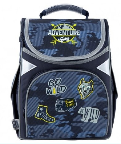 "Рюкзак каркасний ""GoPack"" Education Adventure 1від.,3карм. №GO20-5001S-16(8)"