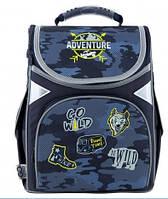 "Рюкзак каркасний ""GoPack"" Education Adventure 1від.,3карм. №GO20-5001S-16(8), фото 1"