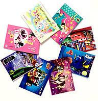 "Альбом для малюв. на скобі 20/120 A4 з перфор. ""Disney"" з глітер.покрит./Тетрада/(20)"