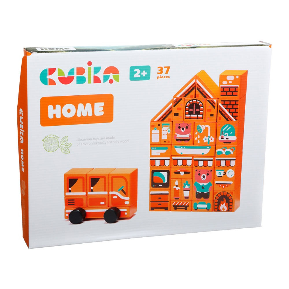 "Констр-р дерев. ""Home"" Cubika №LDK5/15153"