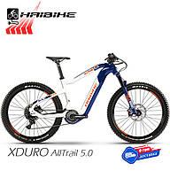 Электровелосипед 27.5 HAIBIKE XDURO AllTrail 5.0 Carbon рама M 2020 синий (4541000946)