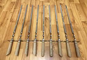 """Набор шампуров Mavens """"Шпага"""" с деревянной светлой ручкой, 9 шт (02-0035)"""