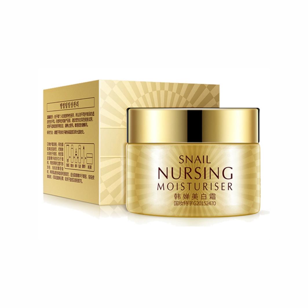 Питательный крем для лица с экстрактом улитки Rorec Snail Nursing Moisturiser Cream