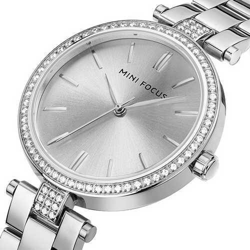 Mini Focus MF0039L.06 All Silver Diamonds