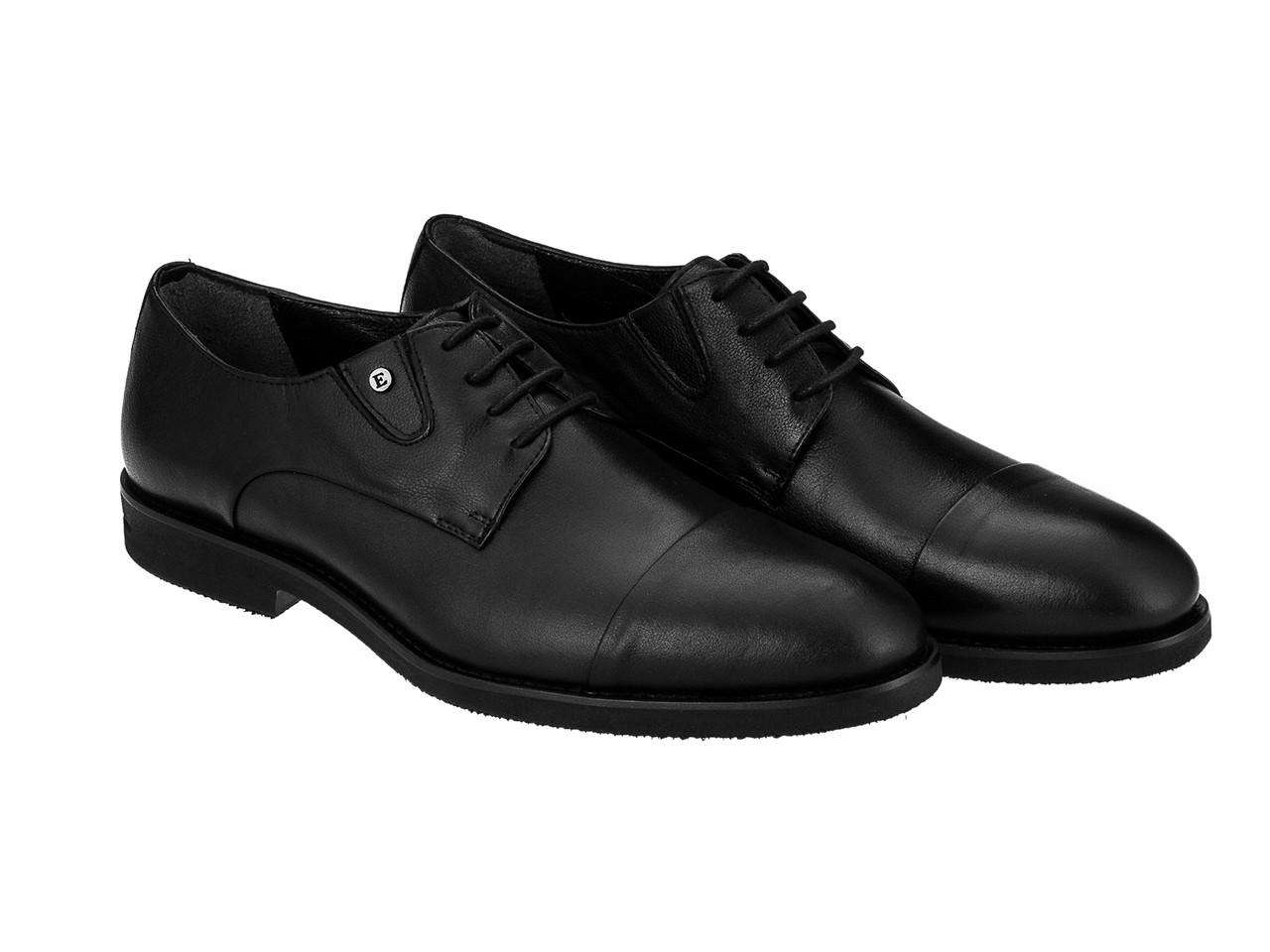 Туфли  Etor 13485-3949 45 черные