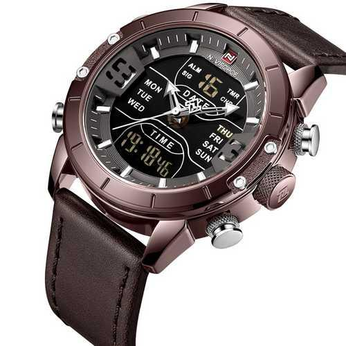 Naviforce NF9153L  Brown-Black