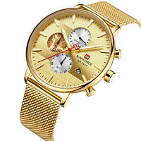 Naviforce NF9169 All Gold
