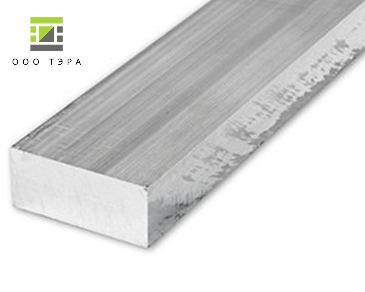 Алюминиевая полоса 100 мм 2017 Т4 дюралевый брусок, заготовка Д1Т