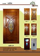 Двери деревянные межкомнатные сосна LEDI