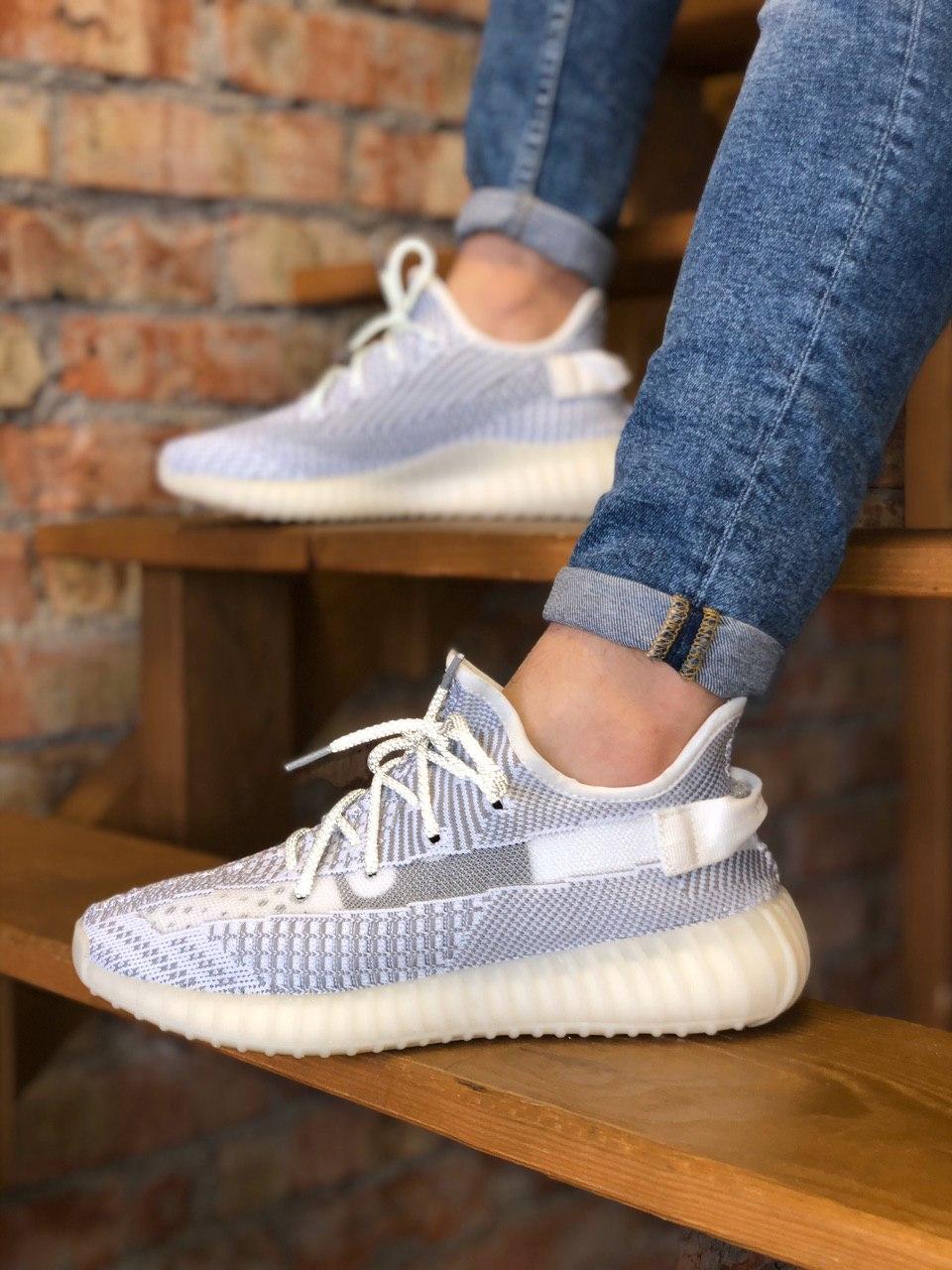 Мужские кроссовки Adidas Yeezy 350 , Реплика